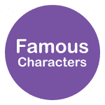 famous characters drawing