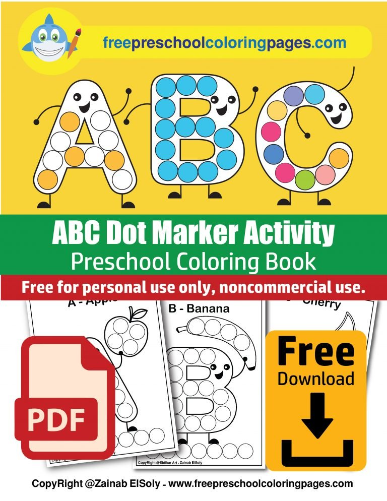 do-a-dot-markers-ABC-Dot-marker-free-coloring-book-pdd-food-and-drink